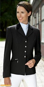 Skarlett Brown Pinstripe Jackets